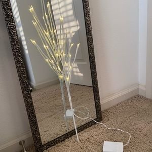 White Lighted Decorative Branches